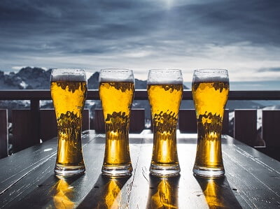 beer for getting rid of oily hair