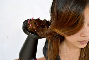 how to use a hair diffuser