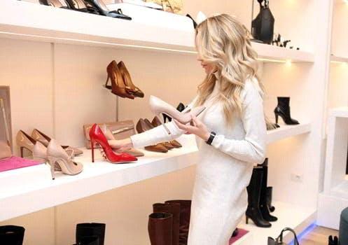 Heels with Low-Cut Vamp