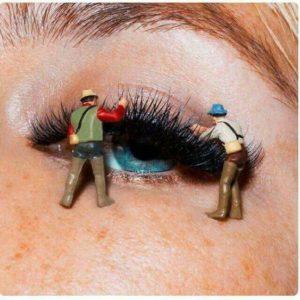 Eyelash Extensions reduce time on makeup