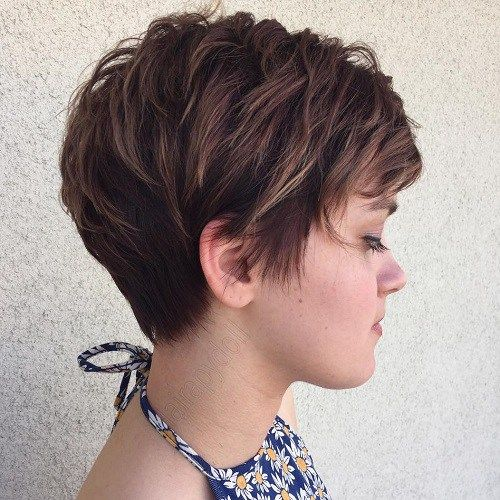 Short Layer Haircut