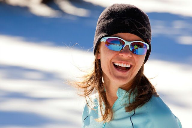 Sporty Ski Sunglasses