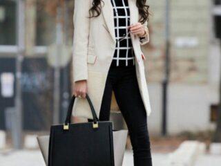 winter fashion for business women