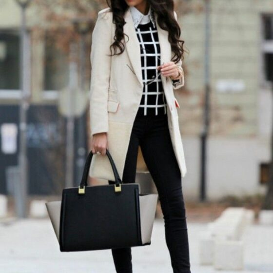 winter fashion for business women