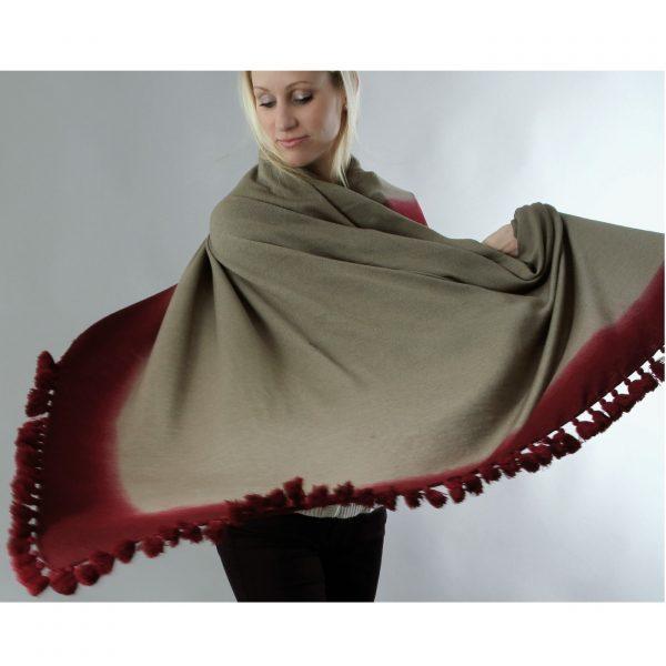 blanket scarf as nursing cover